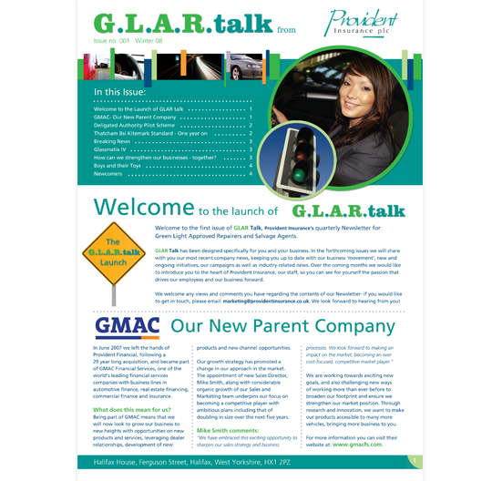 G.L.A.R. talk for Provident