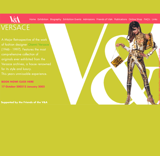 Versace and the V & A